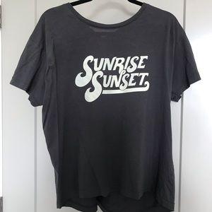 Cotton On Tops - Cotton on sunrise sunset t shirt tee